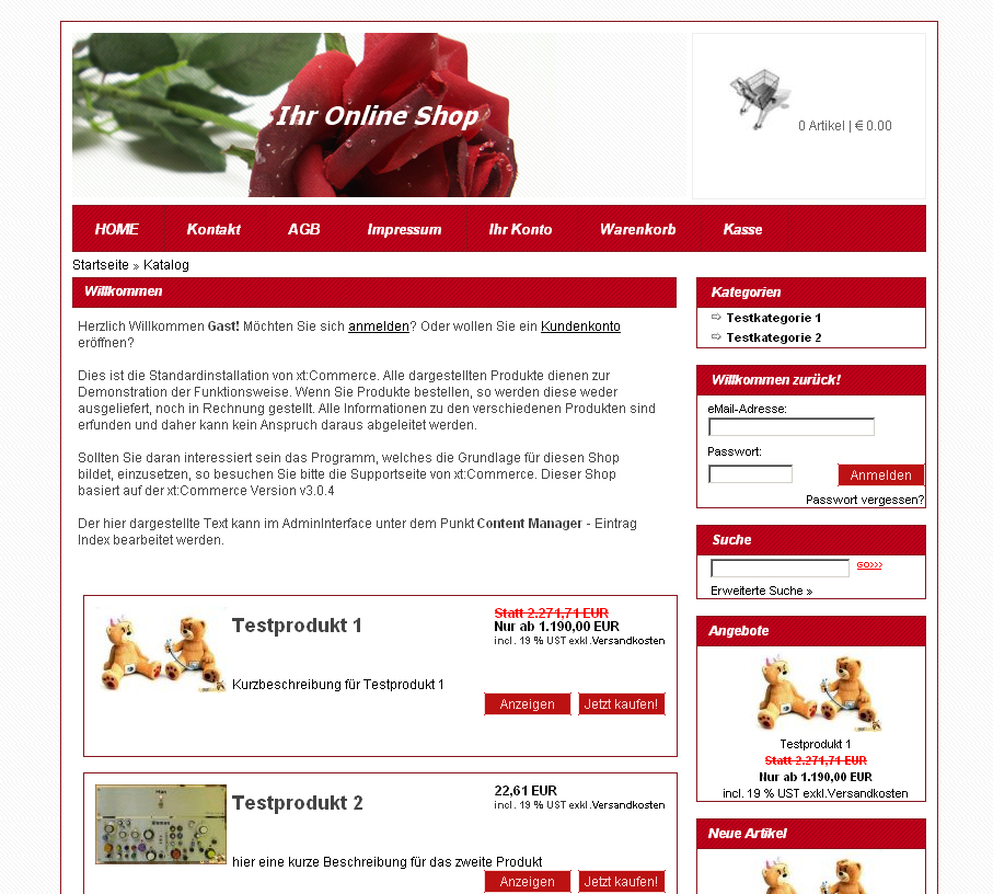 Rotes div css xt commerce template navigation rechts fema media templateshop modified - Css div template ...